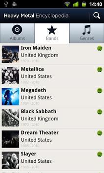 Heavy Metal Encyclopedia Screenshot 3
