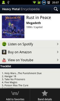 Heavy Metal Encyclopedia Screenshot 1