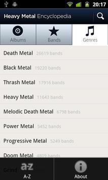 Heavy Metal Encyclopedia Screenshot 2