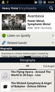 Heavy Metal Encyclopedia Screenshot 4