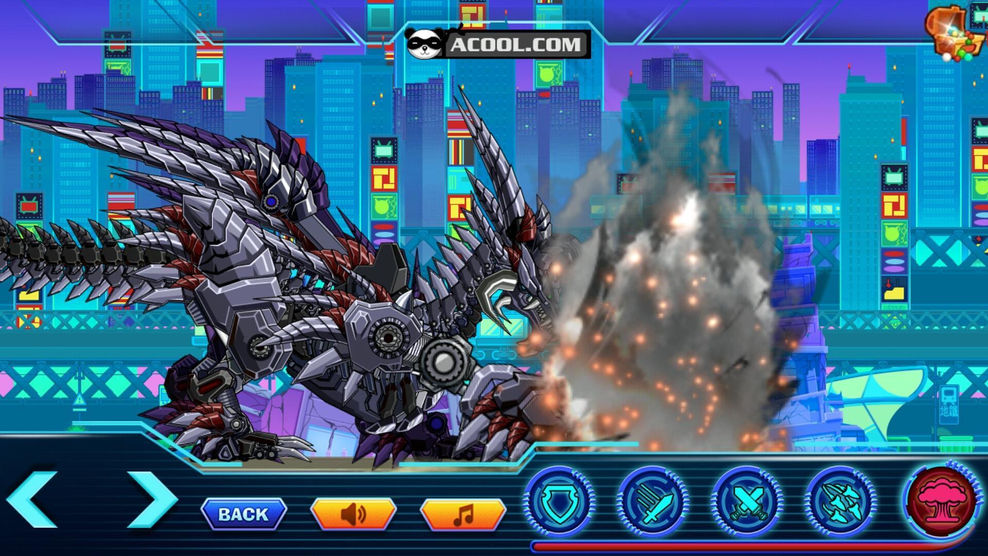 Toy Robot War Skeleton Dragon Para Android Apk Baixar