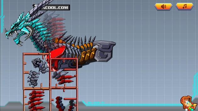 Robot War:Addict Headed Dragon poster