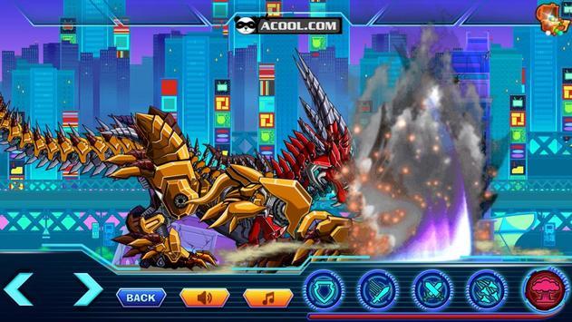 Robot War:Addict Headed Dragon apk screenshot