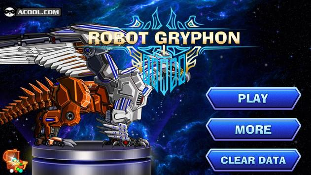 Toy Robot War:Robot Gryphon poster