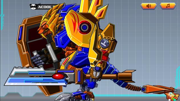 Toy Robot War:Robot Lion Hero screenshot 1