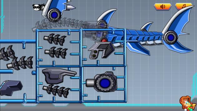 Toy Robot War:Robot Shark screenshot 3