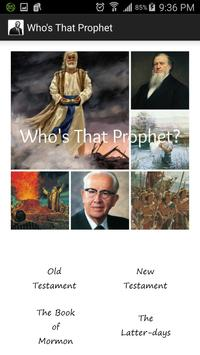 Who's That Prophet? poster