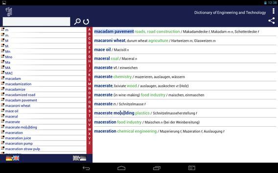 Ernst Engineering DE-EN apk screenshot