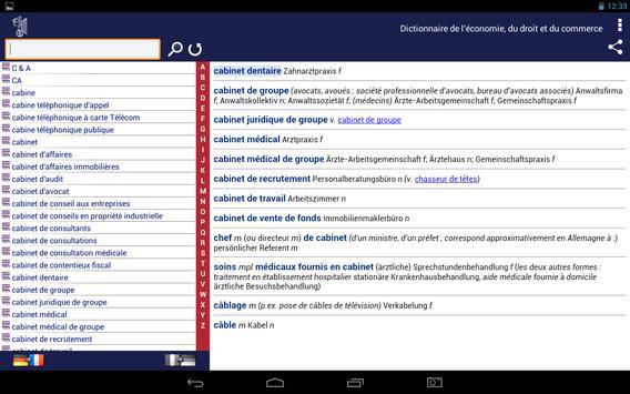Potonnier Economy DE-FR apk screenshot