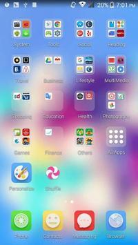 ColorBalloonWorld ACOS Theme apk screenshot