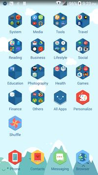 Smiling Color ACOS Theme apk screenshot