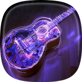 Acoustic Guitar Live Wallpaper icon