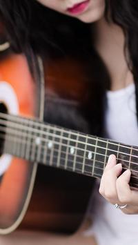 Acoustic Guitar Live Wallpaper screenshot 2