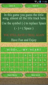 Quiz of Bruno Mars Songs apk screenshot