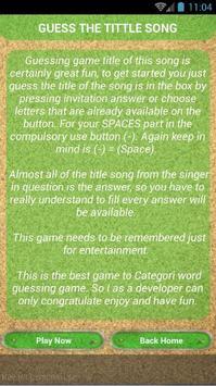 Quiz of The Script Songs apk screenshot