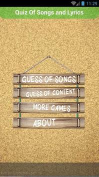 Quiz of Tim McGraw Songs apk screenshot