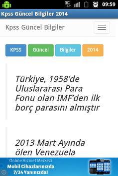 KPSS Güncel Bilgiler 2014 poster