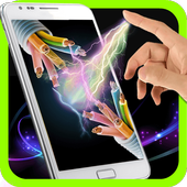 Electric Screen Touch Shock icon