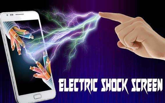 Electric Screen Touch Shock poster