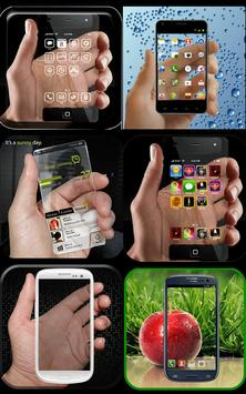 Transparent Phone Screen apk screenshot