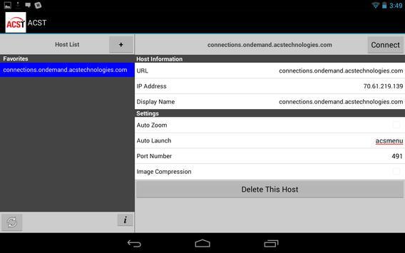 ACS OnDemand apk screenshot