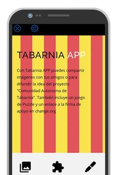 Tabarnia App poster