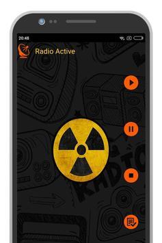 Radio Active Sweden poster