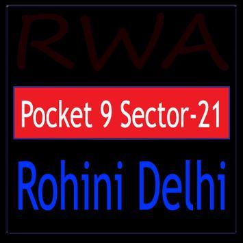 RWA Rohini Pocket 9 Sector-21 poster