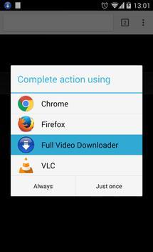 Full Video Downloader screenshot 1