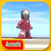 Acrostic LEGO I Man Battle icon