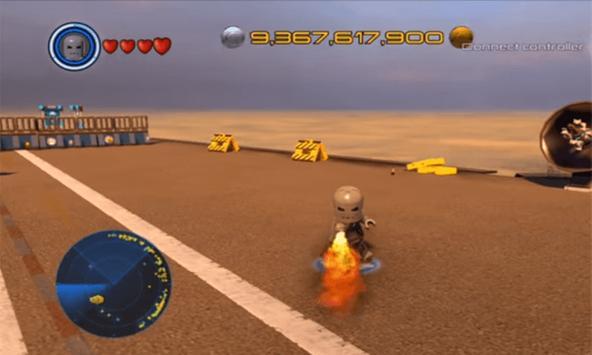 Acrostic LEGO I Man Battle screenshot 1