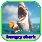 Tips for hungry shark icon