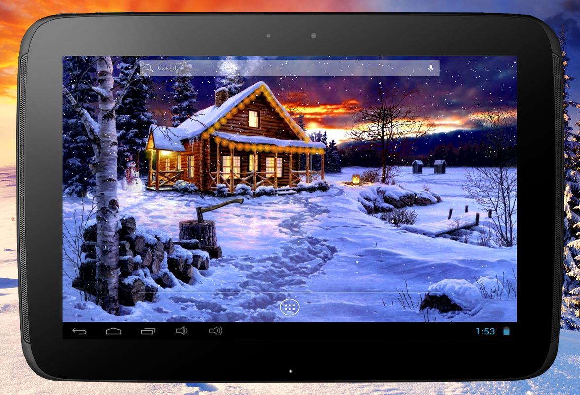 Winter Holiday Live Wallpaper Screenshot 11