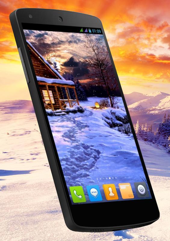 Winter Holiday Live Wallpaper Screenshot 3