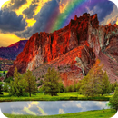 Red Mountain Live Wallpaper APK Android