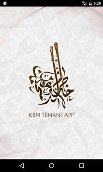 KBM Tenant App poster
