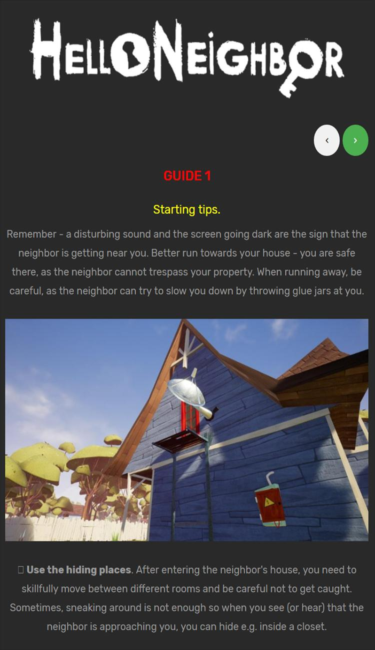 Act 3 Walkthrough To Hello Neighbor for Android - APK Download
