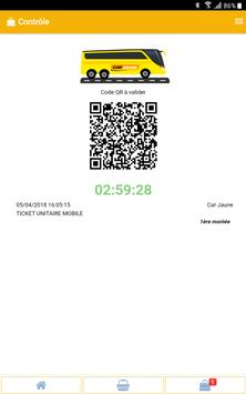 M-Ticket Car Jaune screenshot 4