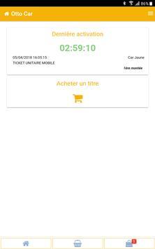 M-Ticket Car Jaune screenshot 5