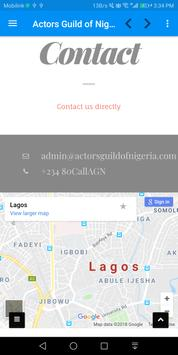 Actors Guild of Nigeria screenshot 6