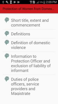 Protection of Women from Domestic Violence Act screenshot 1