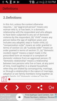 Protection of Women from Domestic Violence Act screenshot 2