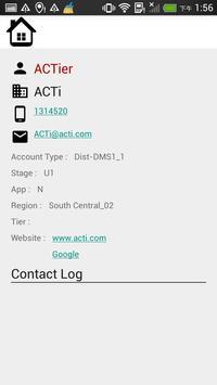 ACTi Contact Manager screenshot 2