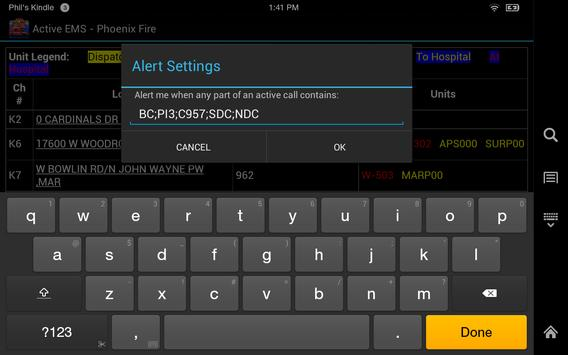 Active EMS Phoenix (Tablet) apk screenshot