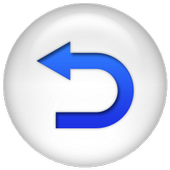 Back Button Gesture Launcher icon