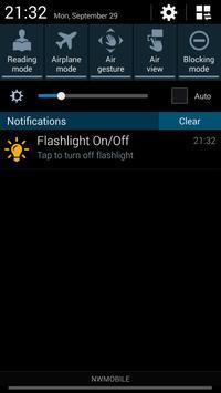 Flashlight On/Off apk screenshot