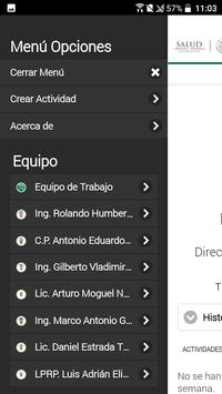 Actividades REPSS screenshot 2