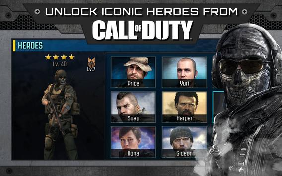 Call of Duty®: Heroes poster