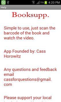 Booksupp apk screenshot