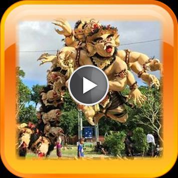 Activity Nyepi in Bali poster